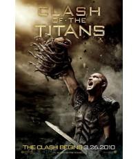 หนังฝรั่งClash of the Titans  สงครามมหาเทพประจัญบาน (2010)/พากษ์ไทย,อัีงกฤษ+ซับไทย DVD 1แผ่น