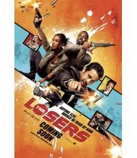 หนังฝรั่งThe Losers  โคตรทีม อ.ต.ร. แพ้ไม่เป็น /พากษ์ไทย,อังกฤษ+ซับไทย DVD 1แผ่น