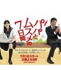 ซีรี่ย์ญี่ปุ่นPapa to Musume no Nanokakan 7วันอลวน หนูกลายเป็นพ่อ พ่อกลายเป็นหนู/ซับไทย 4แผ่นจบ