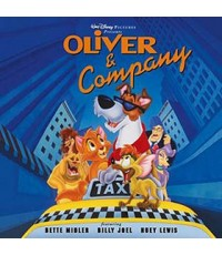 Oliver And Company-เหมียวน้อยโอลิเวอร์กับเพื่อนเกลอ /หนังการ์ตุน/พากษ์ไทย,อังกฤษ+ซับไทย,อังกฤษ 1แผ่น