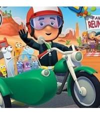 Handy Manny: Manny\'s Motorcycle Adventure แมนนี่ยอดคน: ผจญภัยวันรวมญาติ /DVD 1แผ่น