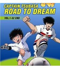 การ์ตูนชุด CAPTAIN TSUBASA ~Road to Dream~/พากษ์ไทย DVD 3แผ่นจบ