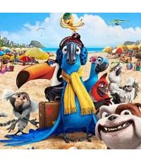 Rio ริโอ /หนังการ์ตูนอนิเมชั่น /พากษ์ไทย,อังกฤษ+ซับไทย,อังกฤษ DVD (จากผู้สร้างIce Age)