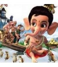 พระพิฆเนศ มหาเทพแห่งปัญญา Bal Ganesh /การ์ตูนอนิเมชั่น / พากษ์ไทย,อินเดีย ซับไทย,อังกฤษ 1 DVD