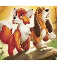 Fox and The hound เพื่อนแท้ในป่าใหญ่ ภาค 1 /หนังการ์ตูน /พากษ์ไทย,อังกฤษ ซับไทย,อังกฤษ