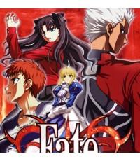Fate Stay Night +movie มหาสงครามจอกศักดิ์สิทธิ์/หนังการ์ตูนชุด /พากษ์ไทย,ญี่ปุ่น ซับไทย DVD 3แผ่นจบ