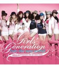 Girls Generation The 1st Asia Tour : Into The New World /คอนเสิร์ต /DVD 2แผ่น