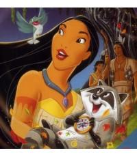 Pocahontas โพคาฮอนทัส /หนังการ์ตูน /พากษ์ไทย,อังกฤษ ซับอังกฤษ