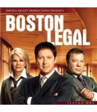 ซีรี่ย์ฝรั่งBoston Legal Season 1 เซียนกฎหมาย ทนายมือเก๋า ปี 1/เสียงอังกฤษ ซับไทย,อังกฤษ DVD 5แผ่นจบ