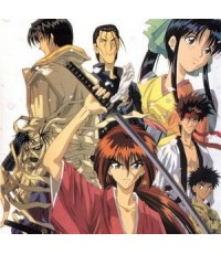 kenshin ซามุไรพเนจร+ภาคต้นกำเนิด /การ์ตูนชุด /พากษ์ไทย,ญี่ปุ่น ซับอังกฤษ DVD 9แผ่นจบ