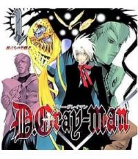 ดี.เก ร ย์ แมน D.Gray Man ปี1-2/หนังการ์ตูนชุด/พากษ์ไทย,ญี่ปุ่น ซับไทย DVD  8แผ่นจบ
