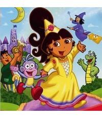 Dora The Explorer:Fairytale Adventure ดอร่าผจนภัยเมืองเทพนิยาย/พากษ์ไทย,อังกฤษ ซับไทย,อังกฤษ
