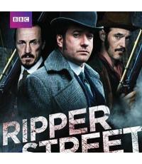 ซีรี่ย์ฝรั่งRipper Street Season 1 ปิดบัญชีฆ่า ล่าเพชฌฆาต/พากษ์ไทย,อังกฤษ ซับไทย,อังกฤษ D2D 3แผ่นจบ
