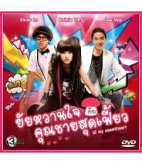 ซีรี่ย์ไต้หวัน Hi My Sweetheart ยัยหวานใจกับคุณชายสุดเฟี้ยว(เรนนี่หยาง) /พากษ์ไทย DVD 4แผ่นจบ