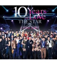 10 YEARS OF LOVE THE STAR IN CONCERT /DVD 3แผ่นจบ