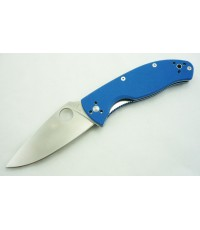 มีดพับ Spyderco Blue Tenacious Limited Edition (C122GPBL)