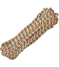เชือกอเนกประสงค์ Parachute Cord 550 (Light Stripe)