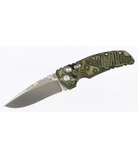 มีดพับ Hogue EX01 Tactical Drop Point Blade with G-Mascus Green G-10 Handles (34178)