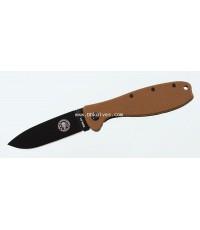 มีดพับ ESEE Zancudo Black Blade, Coyote FRN and Stainless Steel Handles (BRKR1CBB)