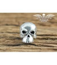 หัวกระโหลกสำหรับแต่ง Lanyard Schmuckatelli Original Classic Skull Bead, Pewter (CP)
