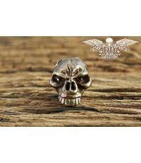หัวกระโหลกสำหรับแต่ง Lanyard Schmuckatelli Emerson Skull Bead, Oil Rubbed Bronze (EORBO)