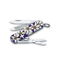 มีดพับ Victorinox Edelweiss Classic Violet (54722)