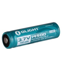 ถ่านชาร์จ Olight 14500 3.7V 750mAh Rechargeable Li-ion Battery