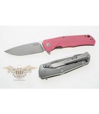 มีดพับ LionSteel T.R.E. Three Rapid Exchange M390 Blade, Pink G10/Matte Titanium Handle (TRE GPK)