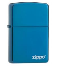 ไฟแช็ค Zippo Sapphire with Zippo Logo (20446ZL)