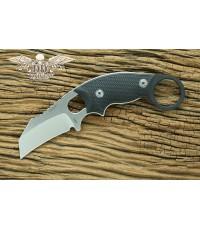 มีดคารัมบิท Hogue Knives EX-F03 Hawkbill Karambit Knife Black G-10 (35329)