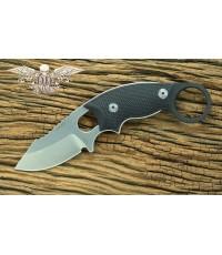มีดคารัมบิท Hogue Knives EX-F03 Clip Point Karambit Knife Black G-10 (35339)