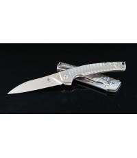 มีดพับ Kizer Cutlery Ki3457A1 TomCat Knives Splinter Flipper S35VN Blade, Matte Titanium Handles