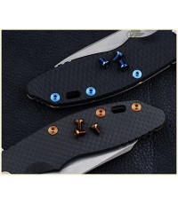 Rick Hinderer Knives Titanium XM Handle Screws for XM-18 3.5 and XM-24 -BRONZE