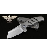 มีดพับ Kizer Cutlery Sheepdog Knives Chris Conaway c01c, S35VN Blade, Titanium Handles (Ki4488)