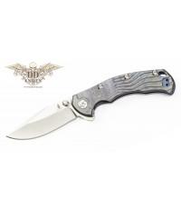 มีดพับ Kizer Cutlery River Cat Flipper S35VN Blade, Anodized Titanium Handles (Ki4456A2)
