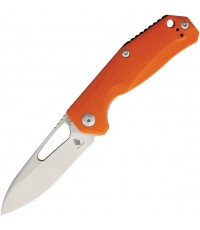 มีดพับ Kizer Cutlery Vanguard V4461A2 Kesmec Folding Knife VG10 Drop Point Blade, Orange G10 Handles