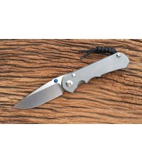 มีดพับ Chris Reeve Small Inkosi S35VN Drop Point Blade, Double Lugs, Titanium Handles (SIN-1000)