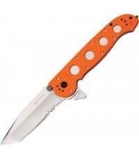 มีดพับ CRKT Rescue Folding Knife Combo Tanto Blade, Zytel Handles ( M16-14ZER)