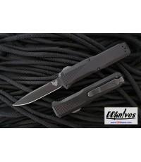 มีดออโต้ Benchmade Phaeton AUTO OTF Black S30V Drop Point Blade, Black Aluminum Handles (4600DLC)