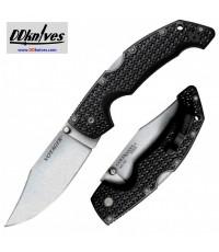 มีดพับ Cold Steel Large Voyager Clip Point Folding Knife AUS-10A Stonewashed Plain Blade (29AC)