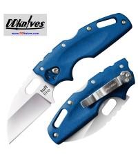 มีดพับ Cold Steel Tuff Lite Folding Knife Plain Blade, Blue Griv-Ex Handles (20LTB)