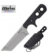 มีดห้อยคอ Cold Steel Mini Tac Tanto Fixed Plain Blade with Sheath (49HTF)
