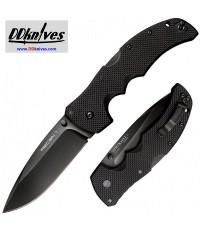 มีดพับ Cold Steel Recon 1 Spear Point S35VN Black DLC Plain Blade, Black G10 Handles (27BS)