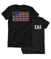 เสื้อยืดคอกลม Emerson Flag Shirt (Size M)