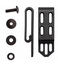 คลิปเหน็บเข็มขัด Cold Steel Secure-Ex™ C-Clip, Large (SACLA) จำนวน 2 ชุดต่อแพ็ค