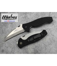 มีดพับ Emerson SARK Folding Rescue Knife Satin Plain Blunt Tip Blade, G10 Handles (SARK-SF)
