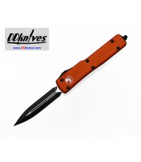 มีดออโต้ Microtech UTX-70 D/E OTF Automatic Knife Black Blade, Orange Handles (147-1OR)