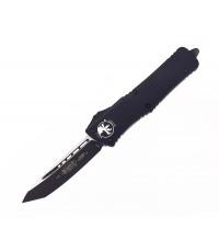 มีดออโต้ Microtech Combat Troodon T/E OTF Automatic Knife Black Blade, Black Handles (144-1T)