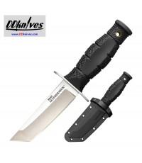 มีดใบตาย Cold Steel Mini Leatherneck Fixed Blade Knife Tanto, Secure-Ex Sheath (39LSAA)
