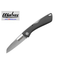 มีดพับ Gerber Shark Belly Folding Knife Satin Plain Blade, Gray GFN Handles (30-001409N)